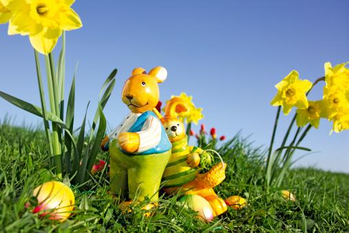 Easter Basket「Easter bunnies」:スマホ壁紙(1)