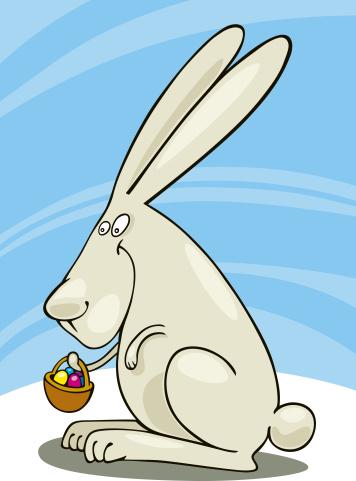 Caricature「Easter Bunny」:スマホ壁紙(13)