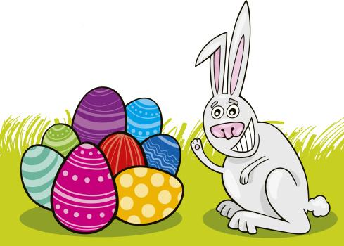 Caricature「Easter Bunny」:スマホ壁紙(14)