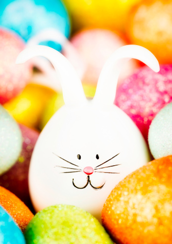 Easter Bunny「Easter Bunny and Eggs」:スマホ壁紙(10)