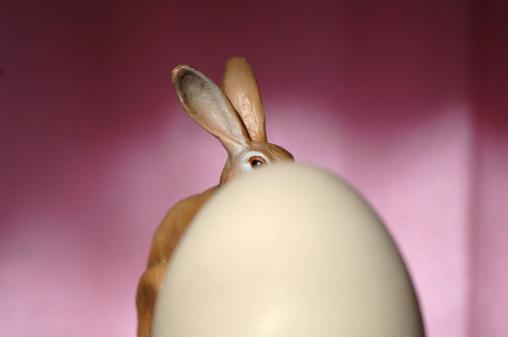 Easter Bunny「Easter bunny and egg」:スマホ壁紙(7)