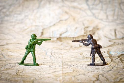 Battle「Toy soldiers war concepts」:スマホ壁紙(5)