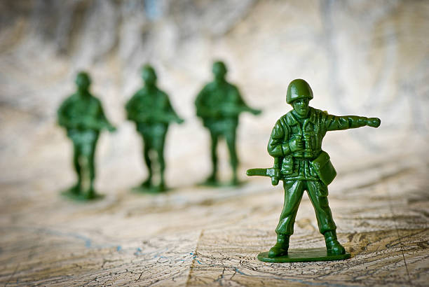 Toy soldiers war concepts:スマホ壁紙(壁紙.com)