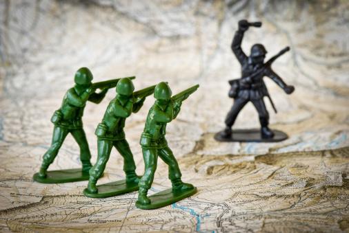 Battle「Toy soldiers war concepts」:スマホ壁紙(8)