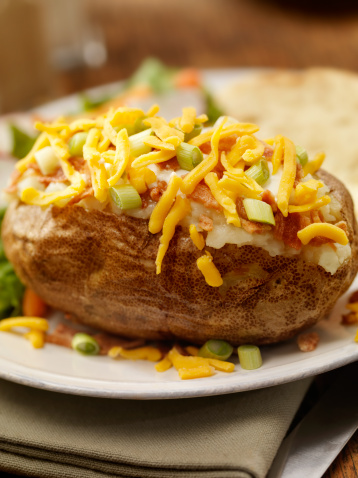 Baked Potato「Baked Stuffed Potato」:スマホ壁紙(2)