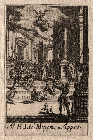 Etching「The Martyrdom Of The Apostles: St. James The Less. Creator: Jacques Callot (French」:写真・画像(15)[壁紙.com]