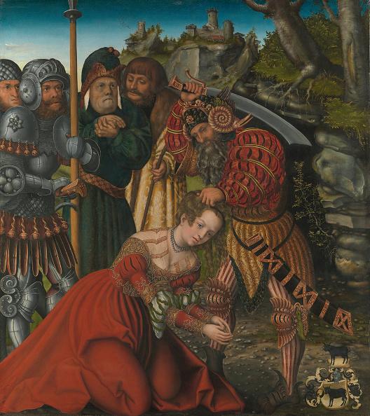 Religious Saint「The Martyrdom Of Saint Barbara」:写真・画像(15)[壁紙.com]
