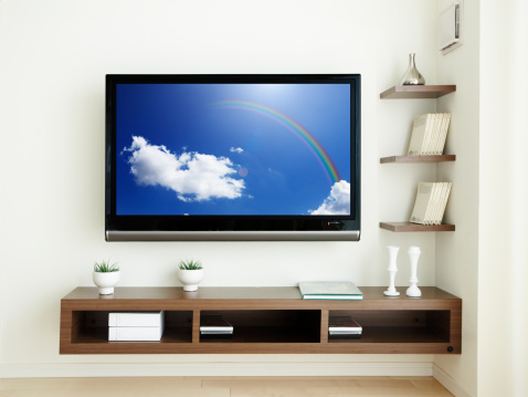 Shelf「LCD TV in the room.」:スマホ壁紙(8)