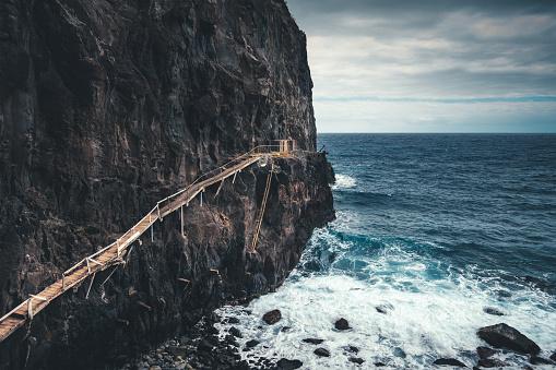 Extreme Terrain「Fisherman's Path On Madeira Island」:スマホ壁紙(11)
