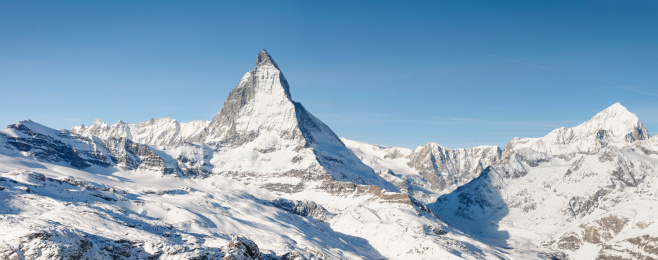 Swiss Alps「Matterhorn Panorama」:スマホ壁紙(5)
