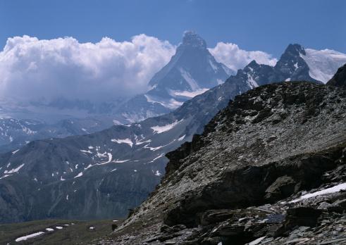 Pennine Alps「Matterhorn」:スマホ壁紙(11)