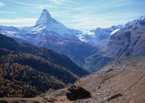 Pennine Alps「Matterhorn」:スマホ壁紙(12)