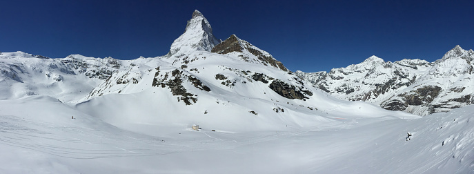 Ski Resort「Matterhorn Peak Zermatt Switzerland」:スマホ壁紙(17)