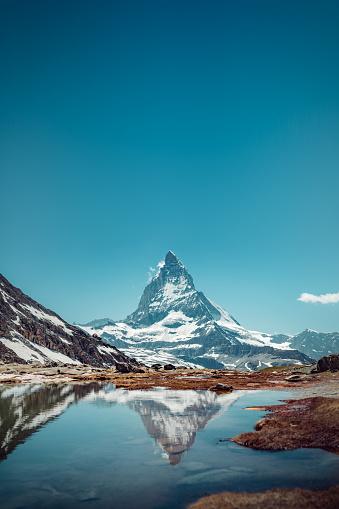 Pennine Alps「Matterhorn - portrait」:スマホ壁紙(10)