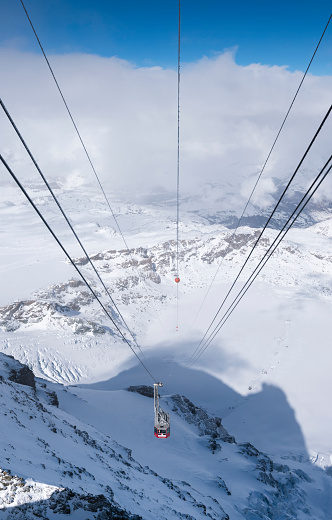 Ski Resort「Matterhorn Glacier Paradise cable car (Klein Matterhorn, Switzerland)」:スマホ壁紙(18)