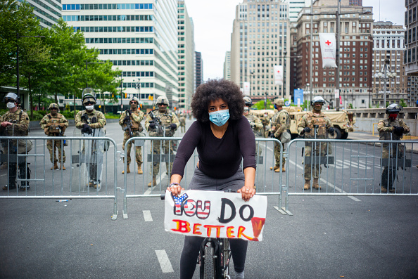 Philadelphia - Pennsylvania「Protests Continue In Philadelphia In Response To Death Of George Floyd In Minneapolis」:写真・画像(3)[壁紙.com]