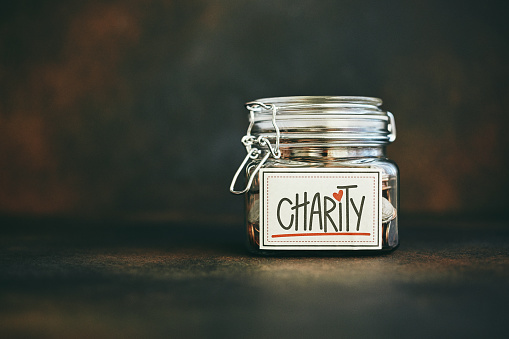Support「Charity jar filled with money」:スマホ壁紙(0)