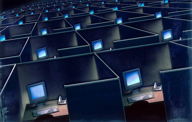 Corporate cubicles:スマホ壁紙(壁紙.com)