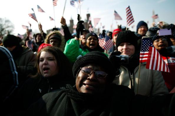Robert Nickelsberg「Barack Obama Is Sworn In As 44th President Of The United States」:写真・画像(6)[壁紙.com]