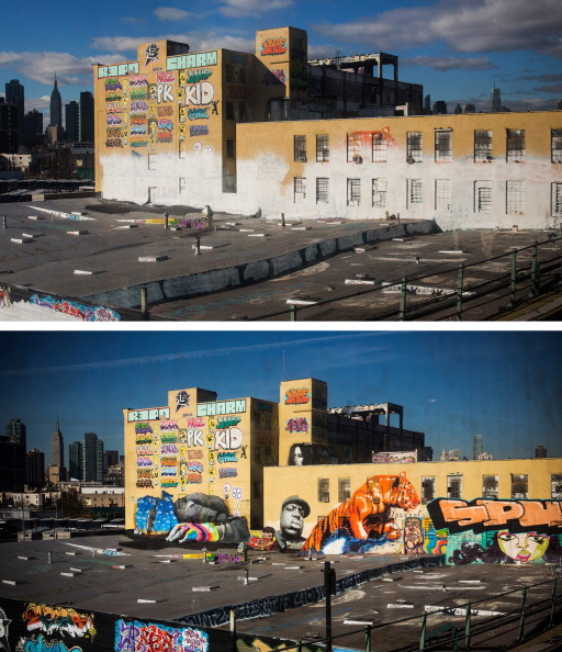 Graffiti「New York Graffiti Mecca Erased By Developer」:写真・画像(12)[壁紙.com]