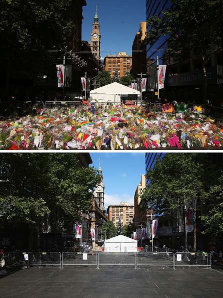 Composite Image「Flower Tributes For Sydney Siege Victims Removed From Martin Place」:写真・画像(5)[壁紙.com]