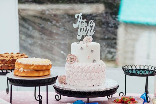 Entertainment Tent「Gorgeous It's a Girl Cake」:スマホ壁紙(12)