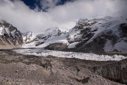 Khumbu Glacier「Khumbu icefall and Kumbu glacier, Everest, Nepal」:スマホ壁紙(6)