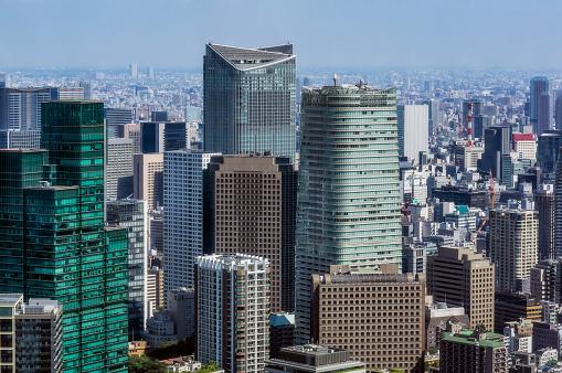 Tokyo - Japan「Japan, Tokyo, City view」:スマホ壁紙(3)