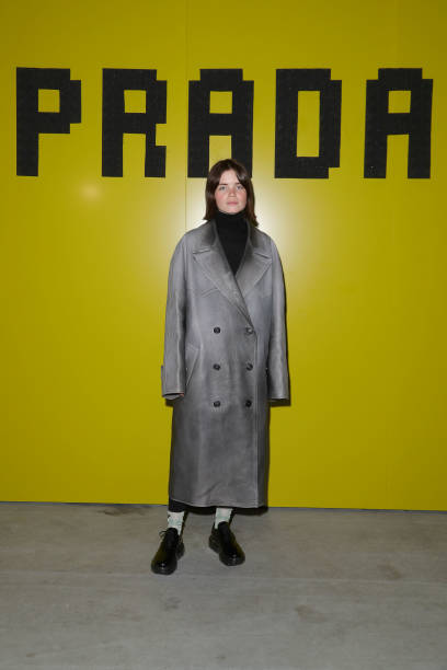 Prada -Arrivals and Front Row: Milan Fashion Week Fall/Winter 2019/20:ニュース(壁紙.com)