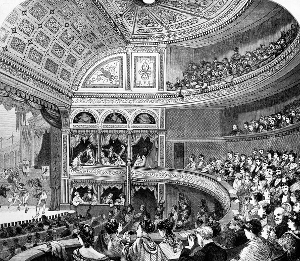 Ceiling「Vaudeville Theatre」:写真・画像(12)[壁紙.com]