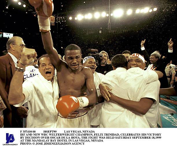 Las Vegas Nevada IBF  And New WBC Welterweight Champion Felix Trinidad Celeb:ニュース(壁紙.com)