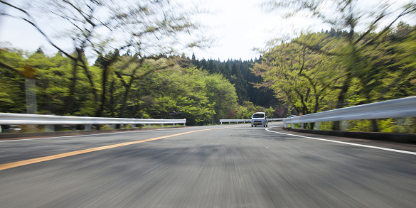 Mountain Road「Driving on mountain road」:スマホ壁紙(13)