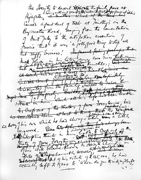 Manuscript「John Galsworthy - In Chancery」:写真・画像(4)[壁紙.com]