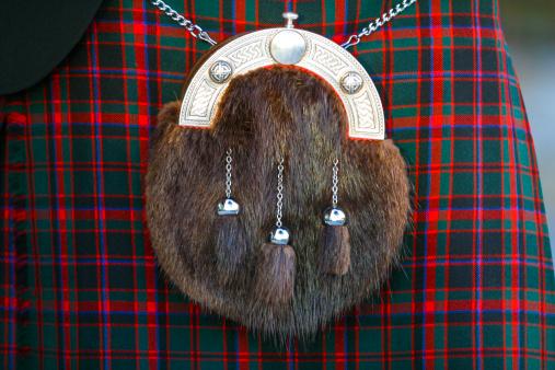 タータンチェック「Scottish sporran and kilt」:スマホ壁紙(3)