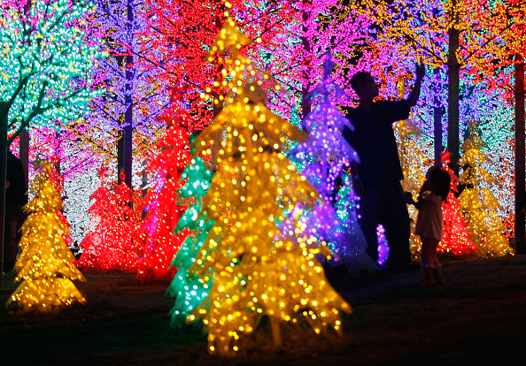 Christmas Lights「Malaysia Prepares For Christmas」:写真・画像(8)[壁紙.com]