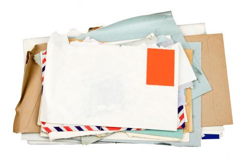Letter - Document「Pile Of Letters」:スマホ壁紙(16)