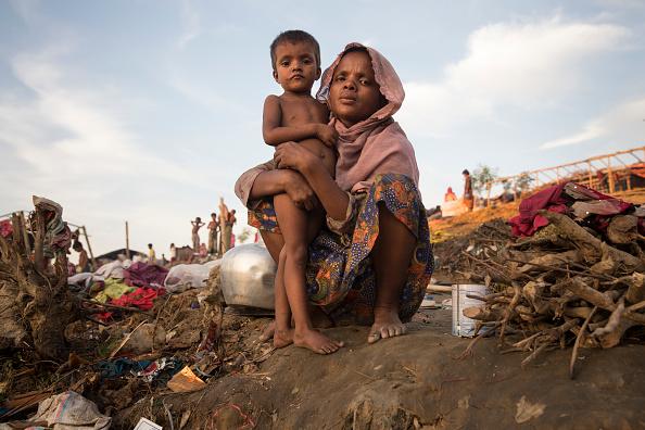 Refugee Camp「Rohingya Refugees Flood Into Bangladesh」:写真・画像(11)[壁紙.com]