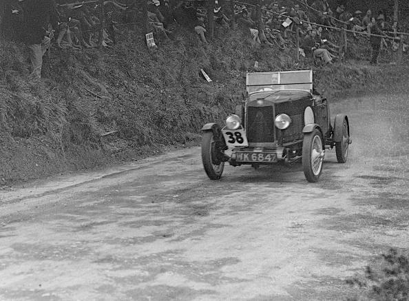 Race Car Driver「Lea-Francis Hyper competing in the Shelsley Walsh Amateur Hillclimb, Worcestershire, 1929」:写真・画像(3)[壁紙.com]