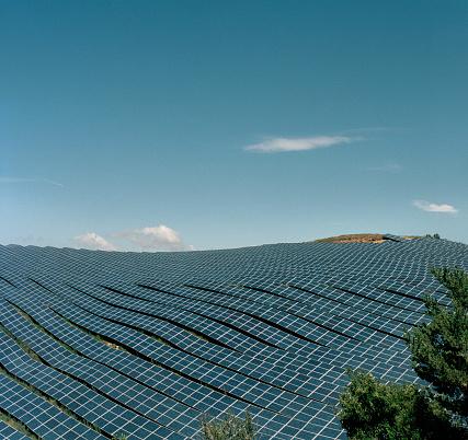 Solar Energy「Solar panels field」:スマホ壁紙(7)