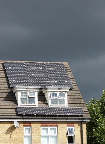 Solar Energy「Solar panels on roof」:スマホ壁紙(0)