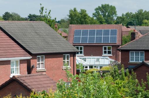 Solar Energy「Solar Panel Roof」:スマホ壁紙(12)