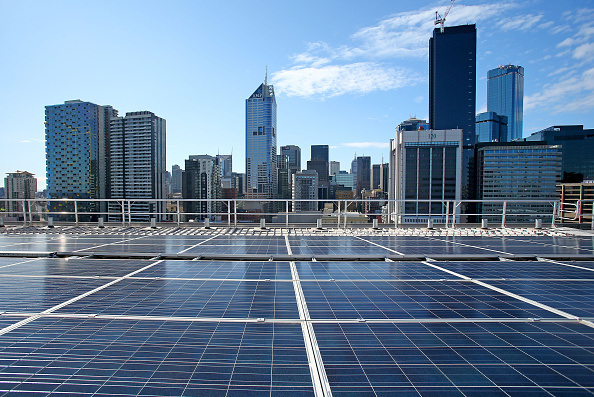 Melbourne - Australia「AGL Installs Rooftop Solar System As Labor Party Announce On Renewable Energy Targets」:写真・画像(12)[壁紙.com]