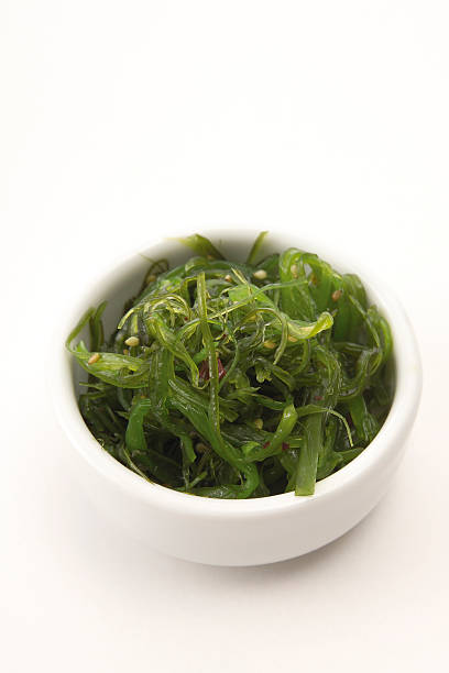 Wakame algae, side dish for sushi:スマホ壁紙(壁紙.com)