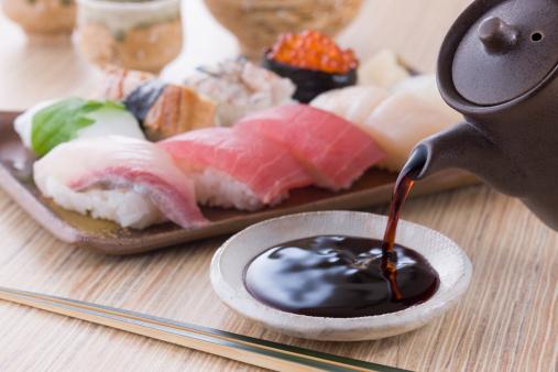 Sake「Soy Sauce and Sushi」:スマホ壁紙(16)