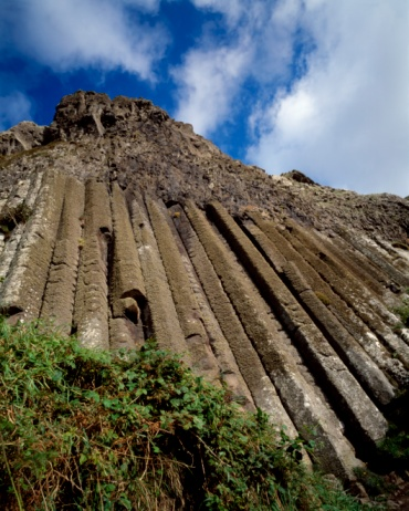 Basalt「The Organ, Giant's Causeway, County Antrim, Ireland」:スマホ壁紙(13)