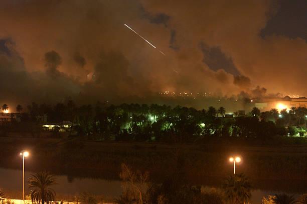 U.S. Missiles Hit Baghdad:ニュース(壁紙.com)
