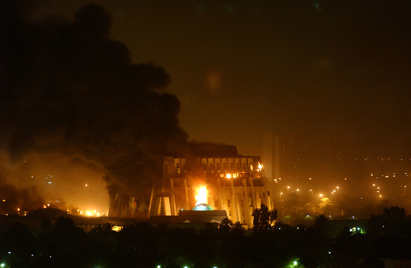 Baghdad「U.S. Missiles Hit Baghdad」:写真・画像(17)[壁紙.com]