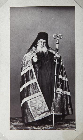 Mt Athos Monastic Republic「Makarios, Archbishop of the St Panteleimon Monastery on Mount Athos, Greece, 1870s.」:写真・画像(5)[壁紙.com]