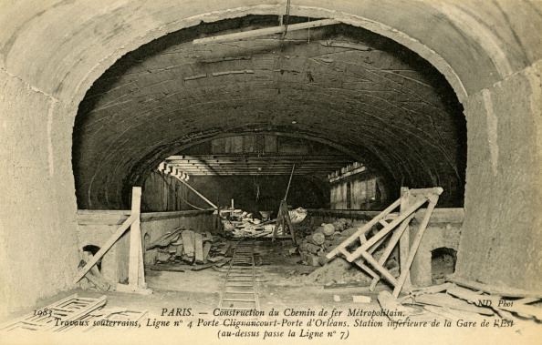 City Life「Paris Metro - construction of Gare de l'Est」:写真・画像(19)[壁紙.com]