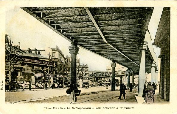 City Life「Paris Metro -  elevated railway at Vilette」:写真・画像(11)[壁紙.com]